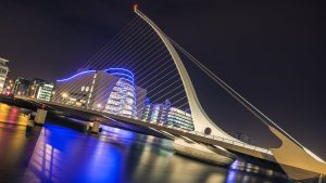 Samuel Beckett Bridge,Dublin Ireland
